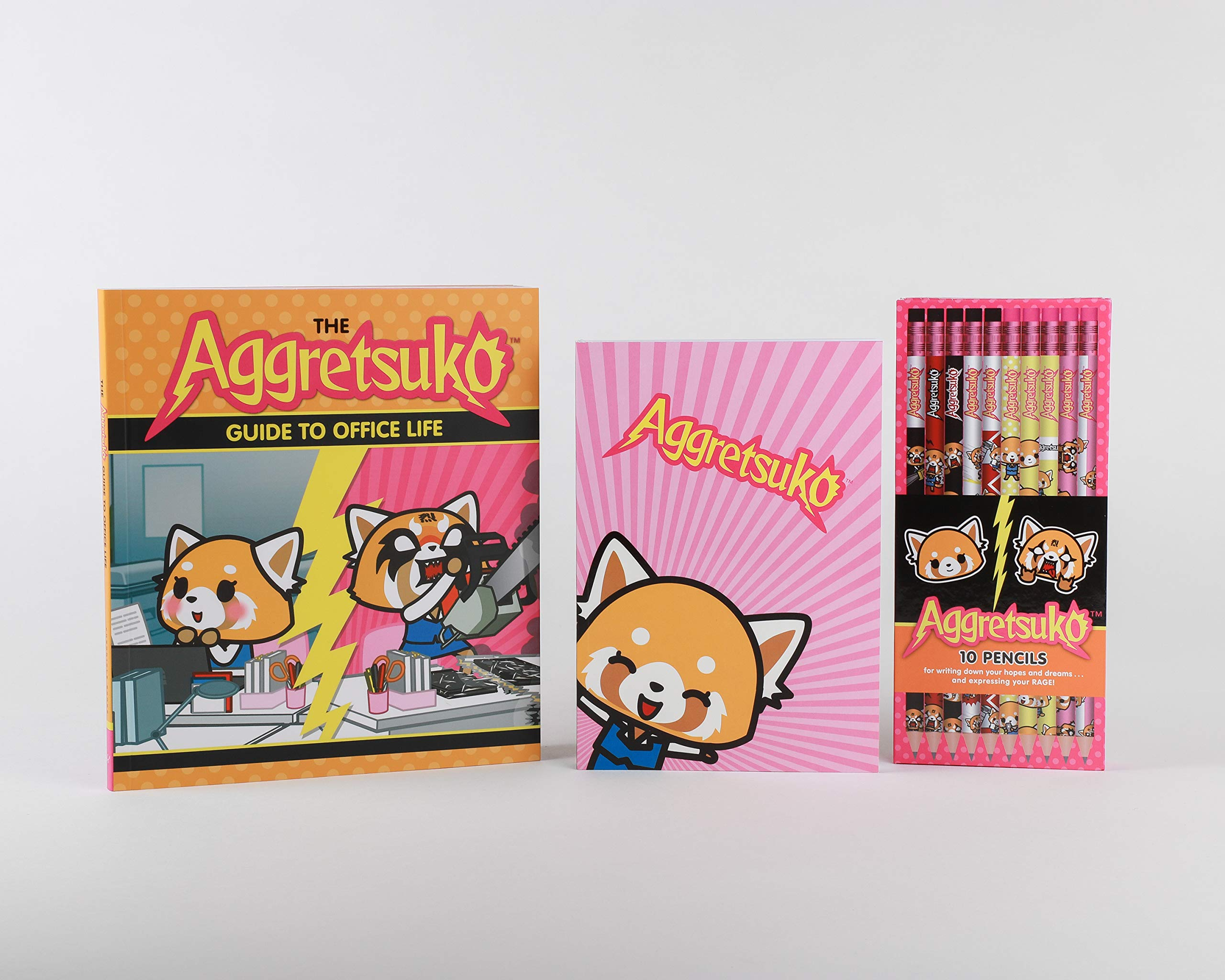 amazon the aggretsuko guide to office life sanrio business