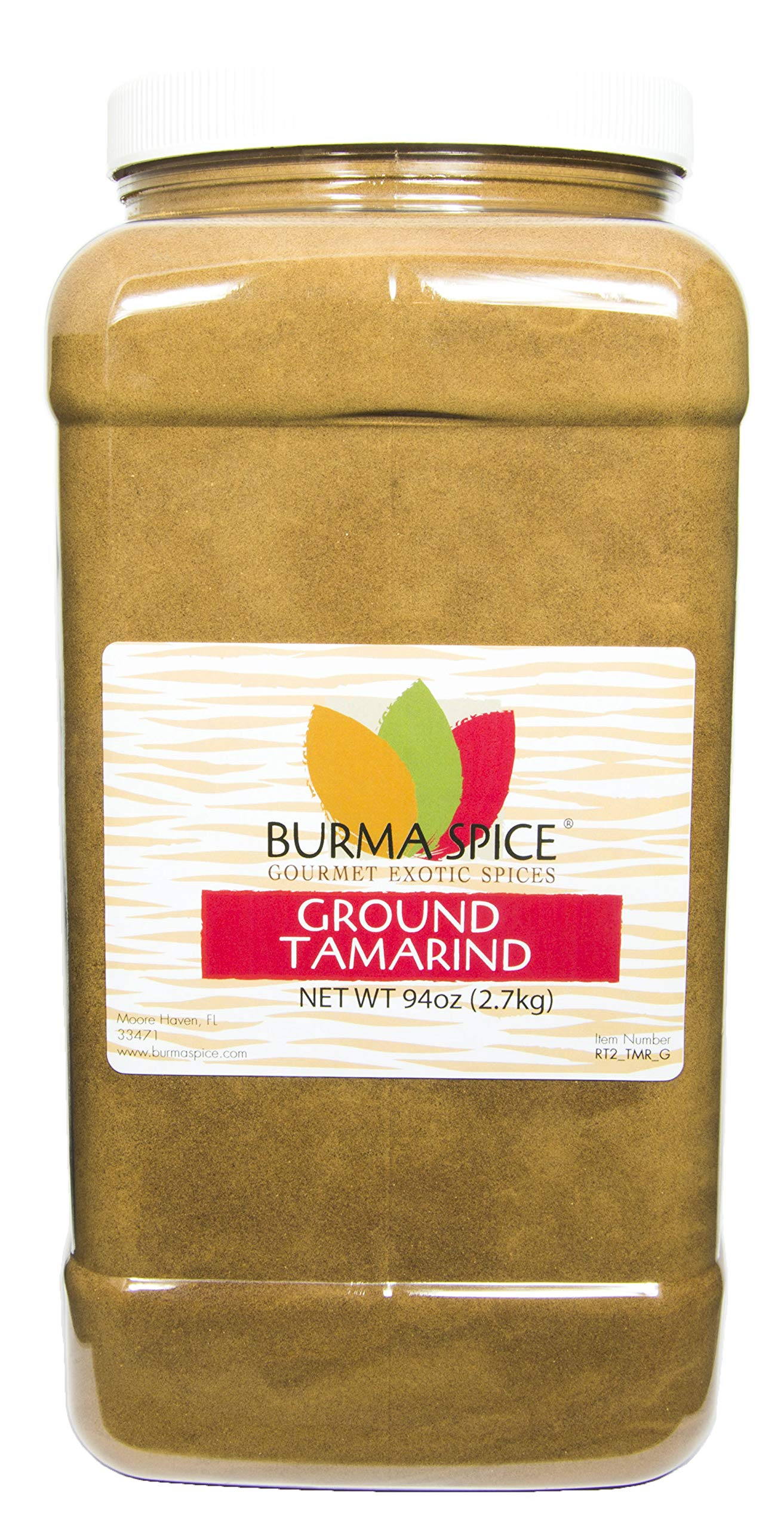 Ground Tamarind : Indian Spice, No Additives, Pure Powder (94oz.)