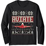 Amazoncom P 51 Mustang Wwii Fighter Ugly Christmas Sweater T