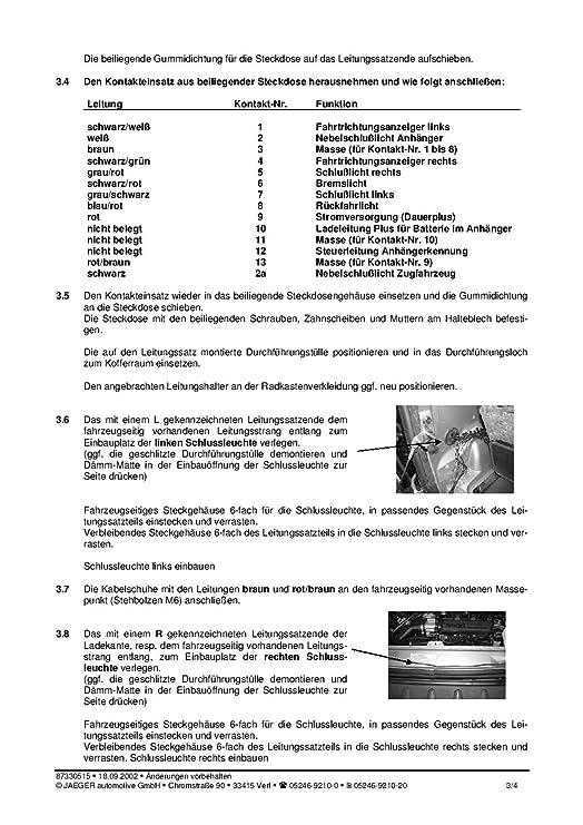 Beste Heckleuchten Am Anhänger Anschließen Fotos - Elektrische ...