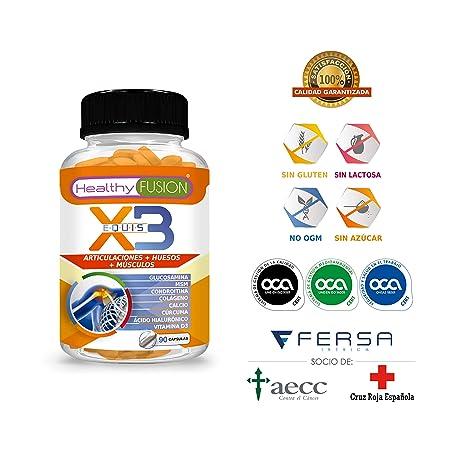 Potente Cúrcuma Orgánica + Colágeno + Condroitina + Glucosamina - Elimina el Dolor en Músculos,