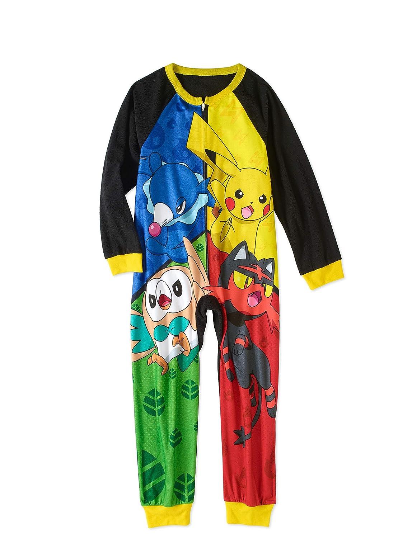 Pokémon Pokemon Boys' Poly One Piece Pajama