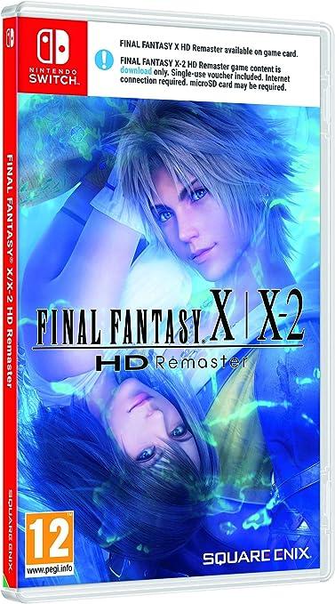 Final Fantasy X/ X-2 HD Remaster - Nintendo Switch [Importación inglesa]: Amazon.es: Juguetes y juegos