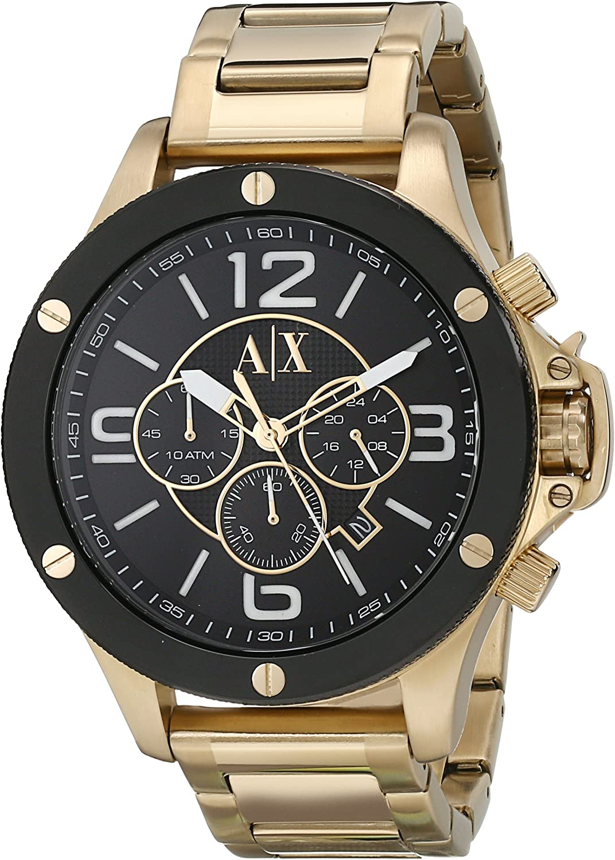 Armani Exchange Men s AX1511 Gold Watch