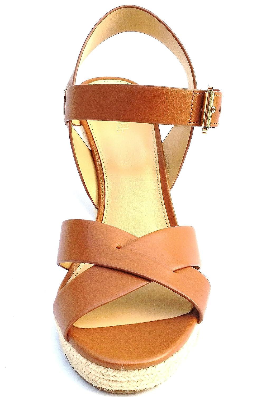 042c621d5db Amazon.com   Michael Kors Platform Shoes Luggage Viola Espadrille ...
