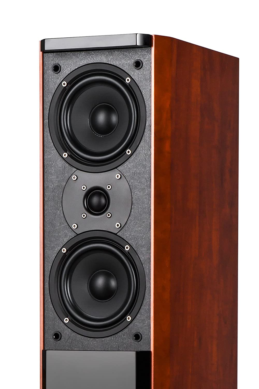 250W braun//schwarz Kr/üger/&Matz KM0512 Aktive Lautsprecherboxen Passion Set 2.0
