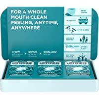 Listerine Ready! Tabs Chewable Tablets With Clean Mint Flavor, Revolutionary 4-hour Fresh Breath Tablets To Help Fight Bad Breath On-the-go, Sugar-free & Alcohol-free, 56 Ct