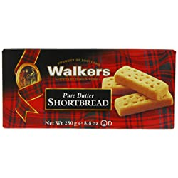 6-Pack Walkers Shortbread Fingers - 250g