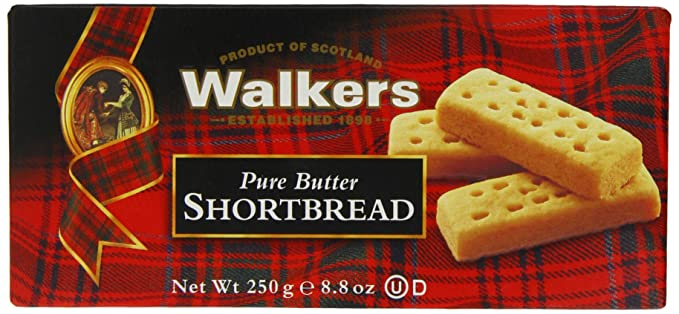 Walkers - Shortbread Fingers - 6 Paquetes de 1 x 250 gr - Total: 1500