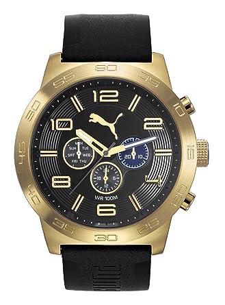 d4676cdd6 reloj puma dorado hombre
