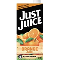 Just Juice No Added Sugar Orange Juice, 1 l, Orange