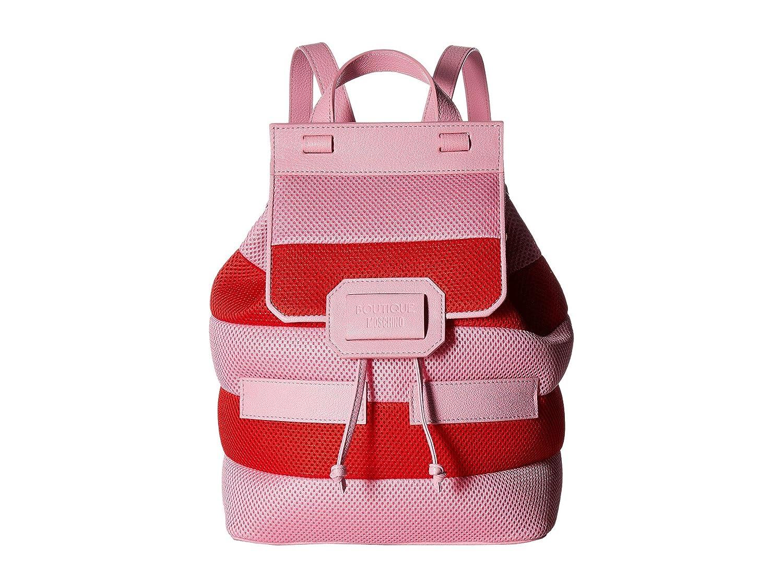 [ブティック モスキーノ] Boutique Moschino レディース Mesh Backpack バックパック [並行輸入品] B06Y1C6C3P Red/PINK