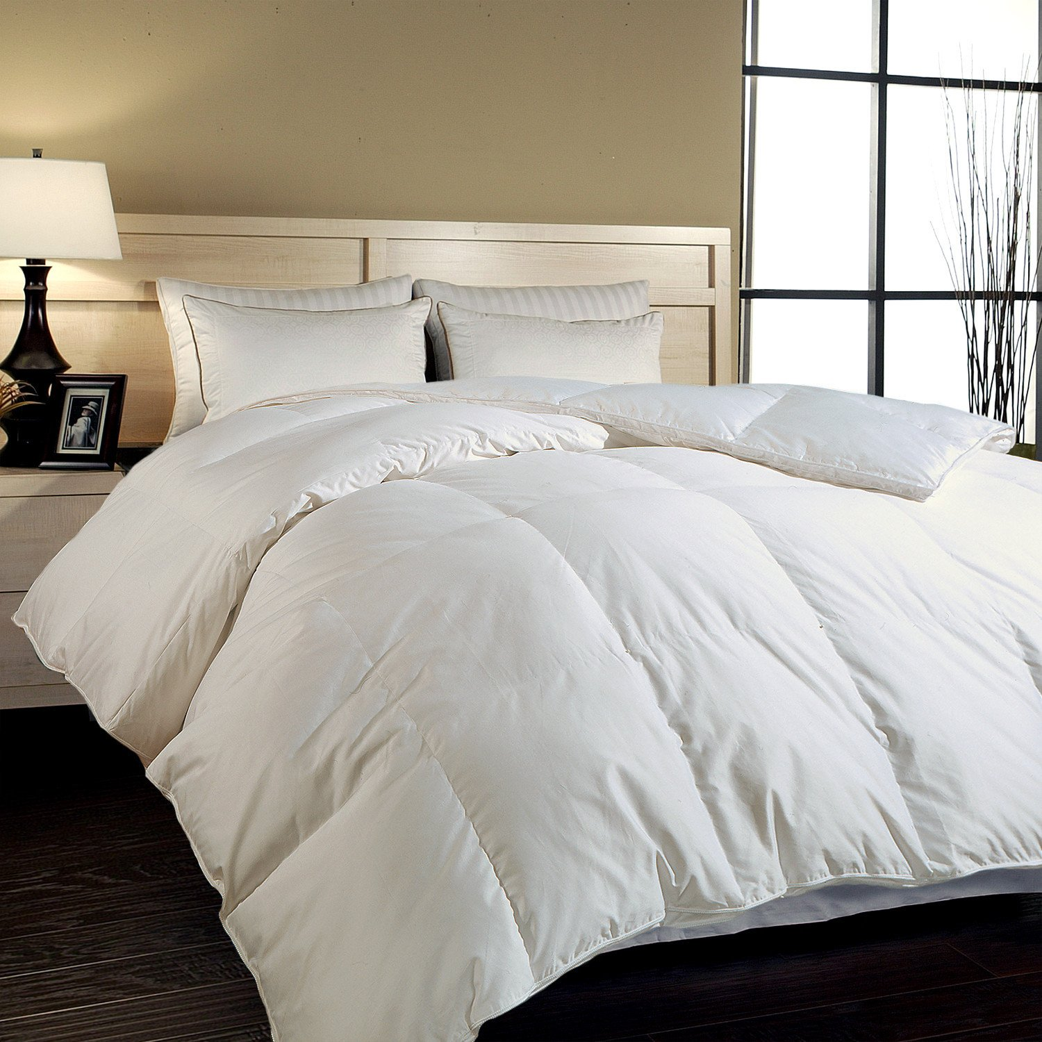bedding overstock hotel down extra comforter warmth today free shipping count siberian white grand macys product thread oversized bath