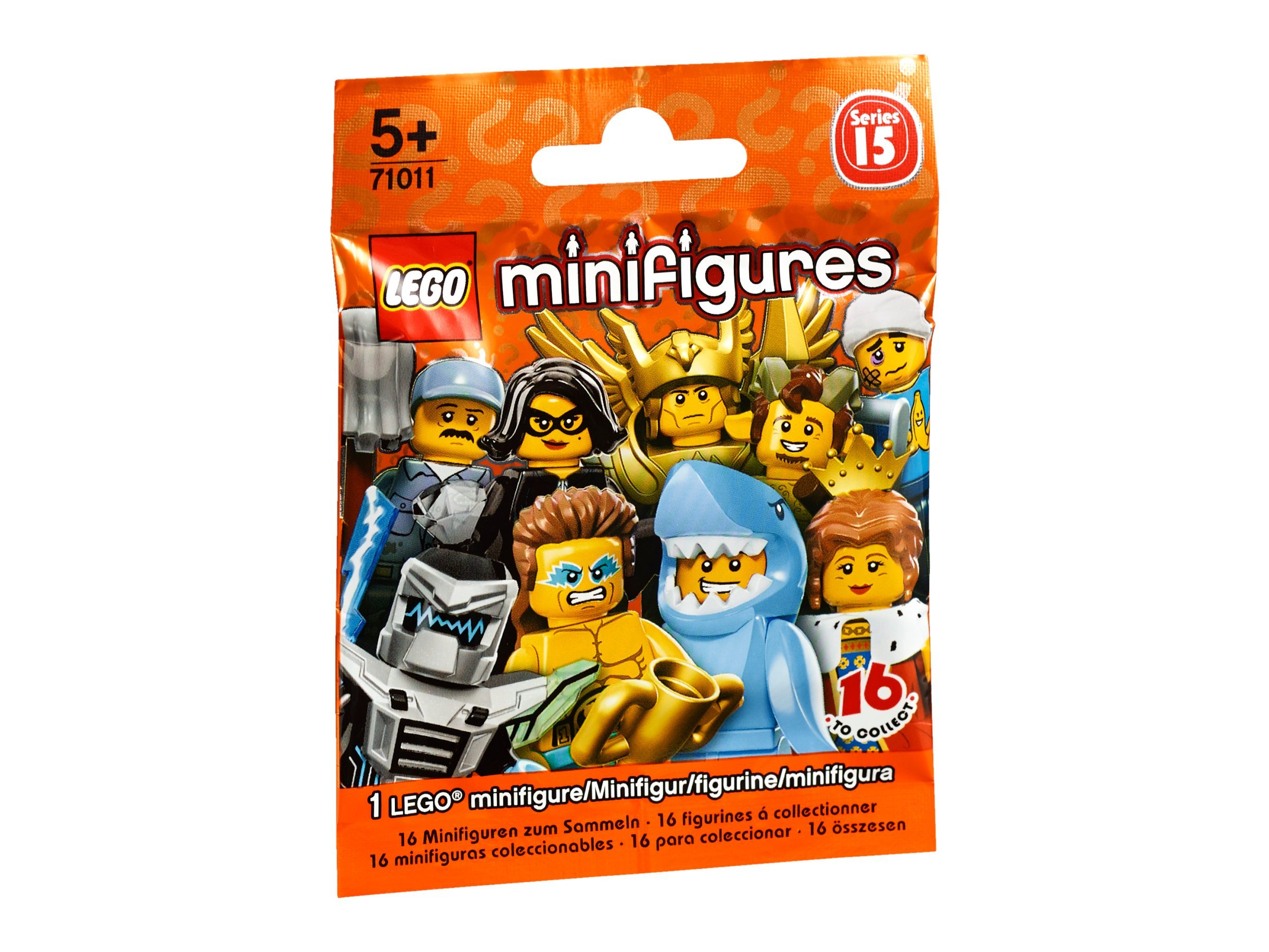 "LEGO ""Series 15 71011"" Mini Figures (Multi-Colour)"