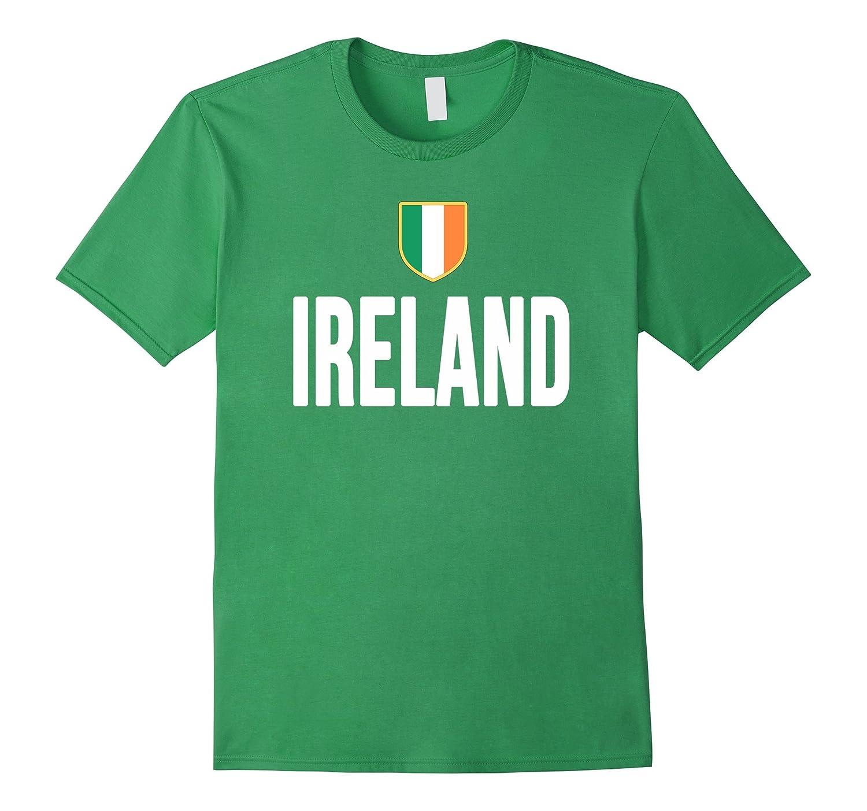 IRELAND T-Shirt Irish Pride Flag Tee Soccer Football Rugby-TD
