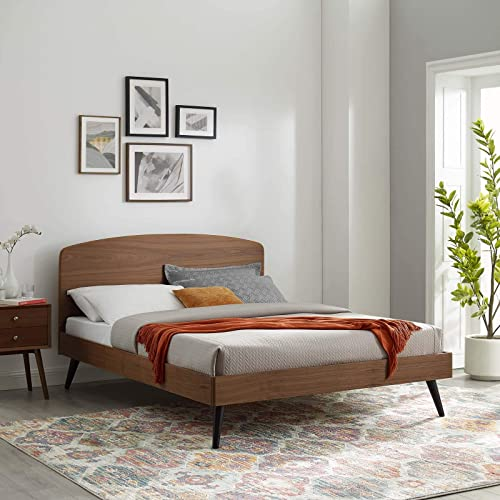 Bronwen King Wood Platform Bed