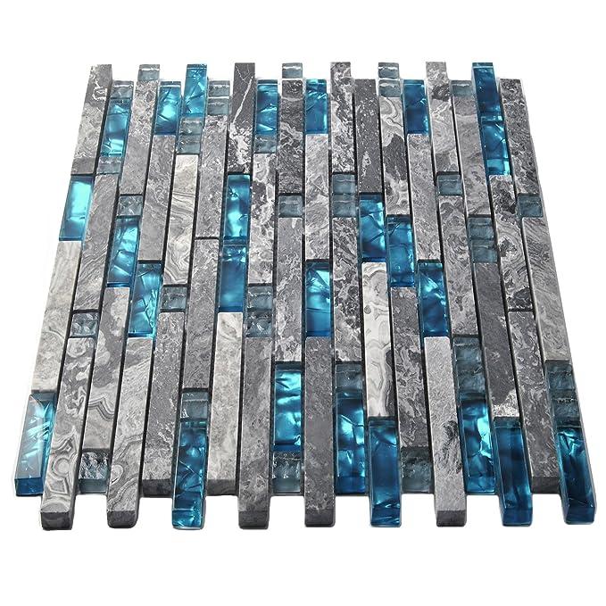 Amazon.com: Azulejos para baño y cocina TSTMGT002 ...