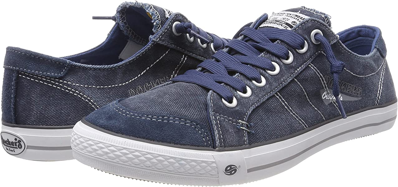 67040 Eu Dockers 790670Sneakers Basses 30st027 Gerli HommeBleudunkelblau By 80knPXwO