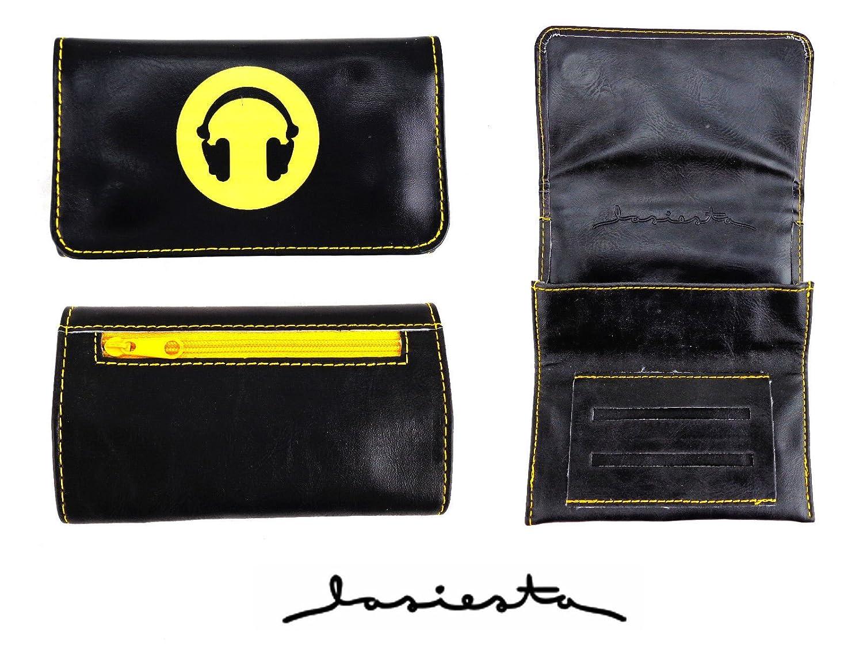 Cuaderno Doble para Tabaco Auriculares Color Negro LA SIESTA Lasiesta Lasiesta