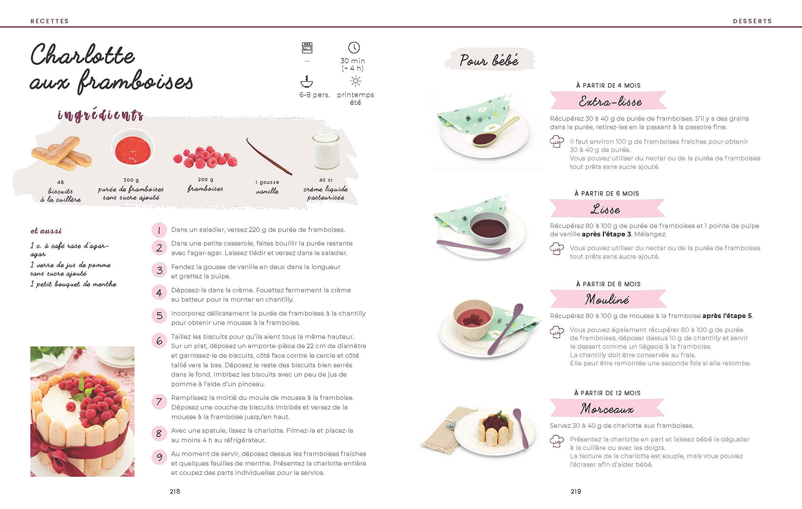 menus et recettes pour toute la famille