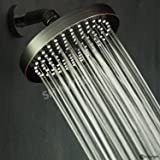 """ShowerMaxx Luxury Spa Grade Rainfall High Pressure Shower Head 6"""" 