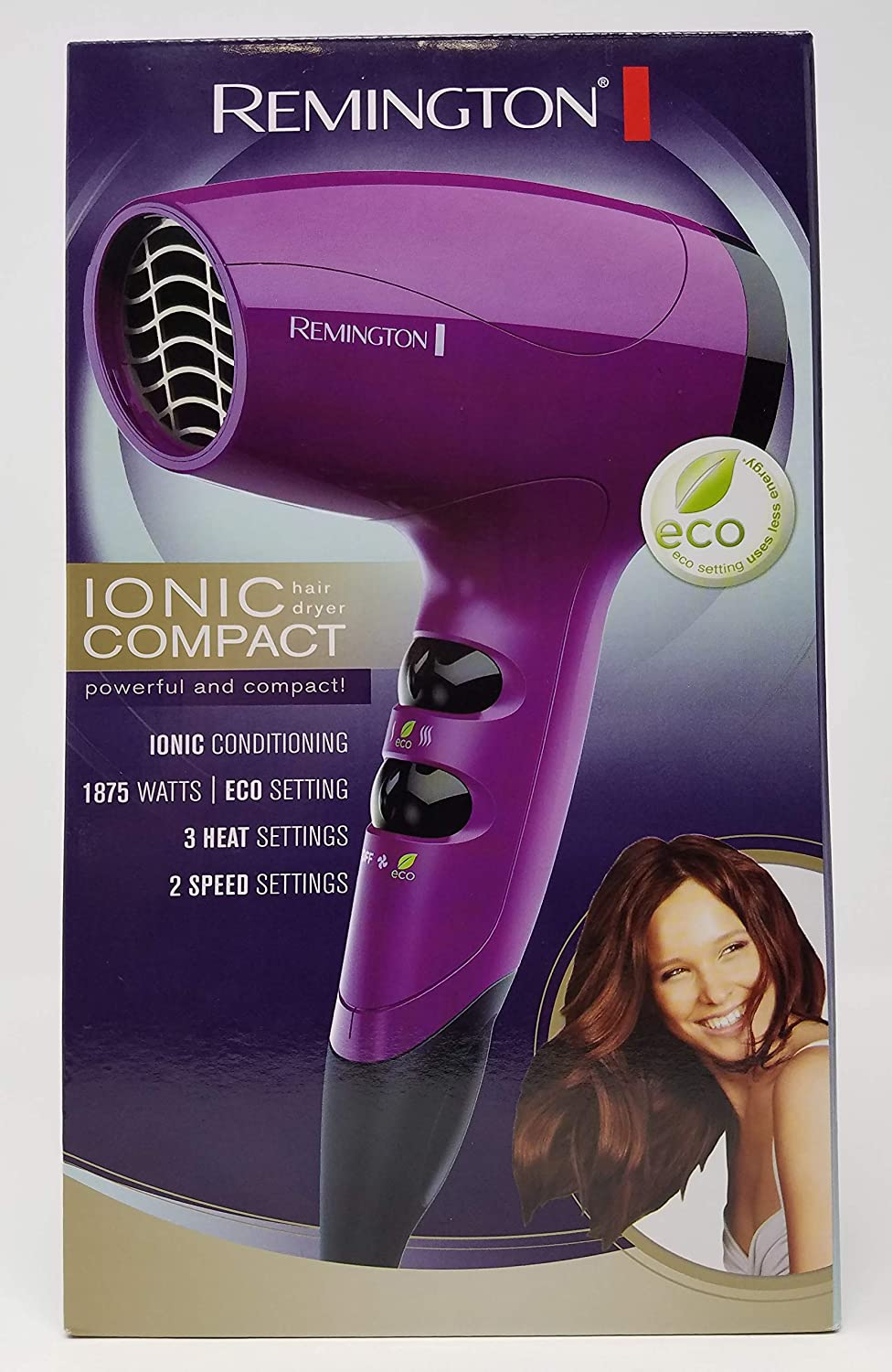 Compact Ionic Travel Hair Dryer, D5000