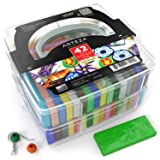 Arteza Polymer Clay Starter Kit, 42 Colors of