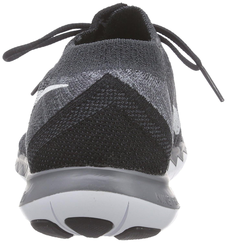 Amazon.com | Nike WMNS FREE 3.0 FLYKNIT womens running-shoes 718420 (7.5  B(M) US, BLACK/WHITE-ANTHRACITE-DARK GREY) | Running