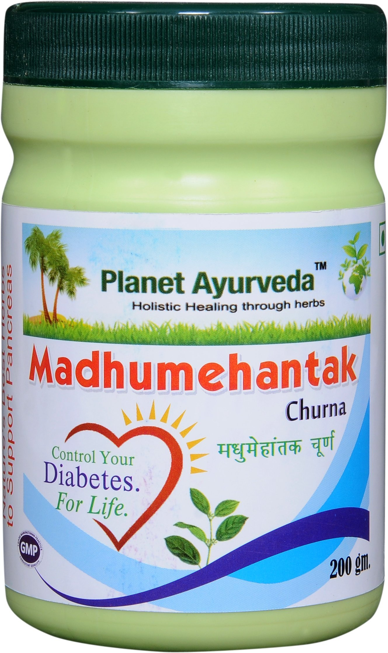 Planet Ayurveda Madhumehantak Churna, 200 Grams; 2 Jars by Planet Ayurveda