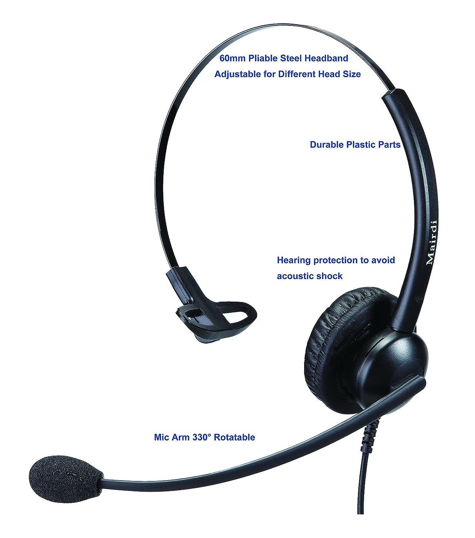 Phone headset Call Center Telefon Headset Kopfhörer mit Noise ...