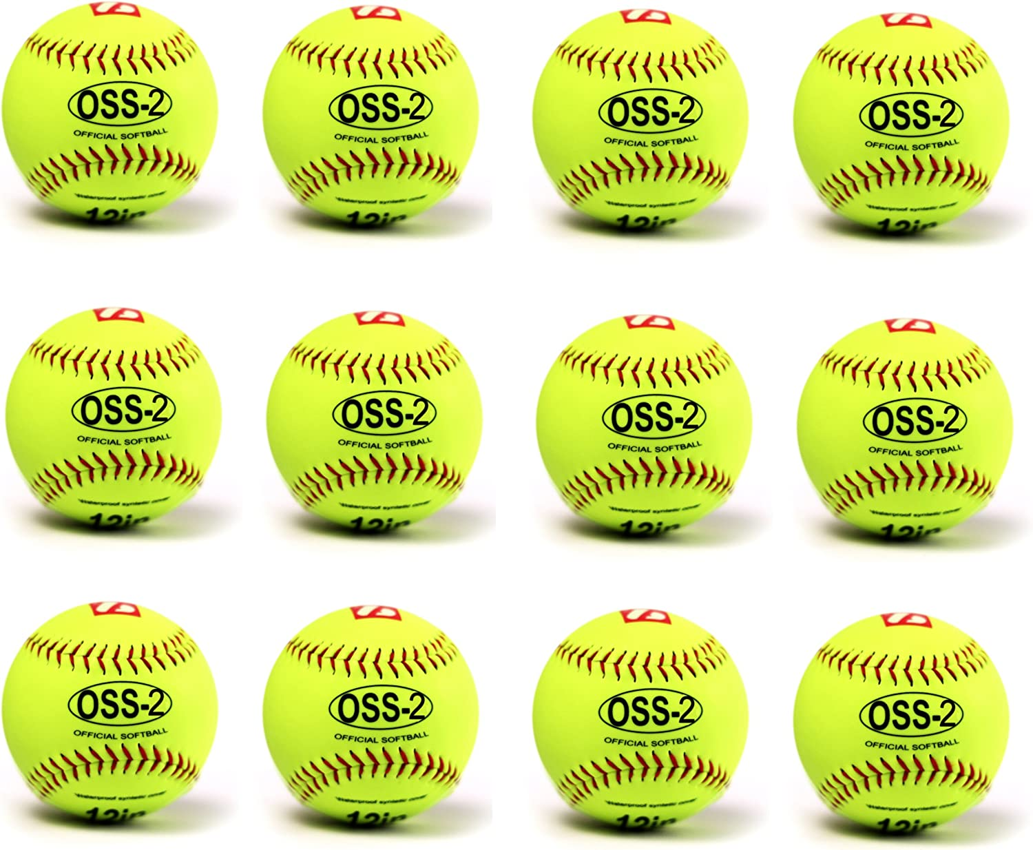 Pelota Barnett para softball (30,5 cm, 12 unidades), color ...