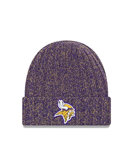 sale retailer 1a566 4d3bd Image Unavailable. Image not available for. Color  New Era Minnesota Vikings  On Field 2018 TD Women s Sport Knit Hat