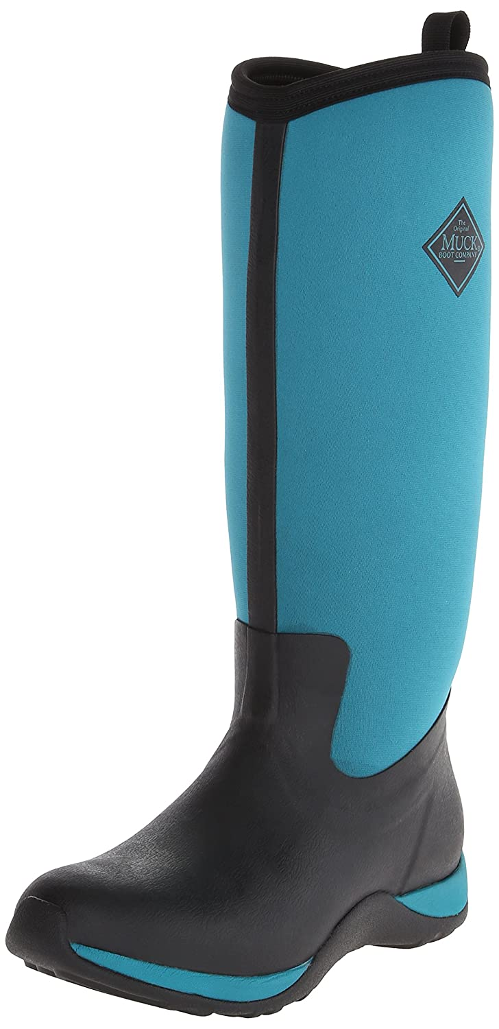 MuckBoots Women's 7 Artic Adventure Snow Boot B00IHWA3VO 7 Women's W US|Black/Harbor Blue 23db07