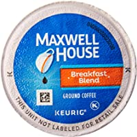 Maxwell House Breakfast Blend Coffee, K-CUP Pods, 84 Count