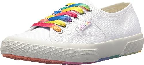 Choose SZ//Color Superga Women/'s 2750 COTW Multicolor Sneaker