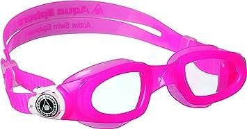 3e899485185 Aqua Sphere Moby Kid Swim Clear Lens Goggles