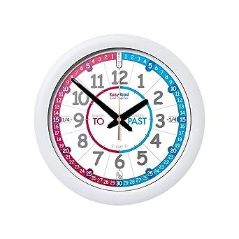 EasyRead time teacher Reloj Infantil Inglés. Sencillo Sistema de enseñanza en 3 Pasos, Diámetro