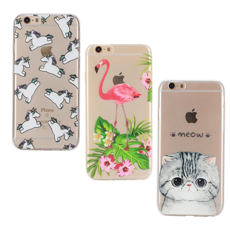 3X iPhone 7 Plus 8 Plus Hülle E Unicorn Amazon Elektronik