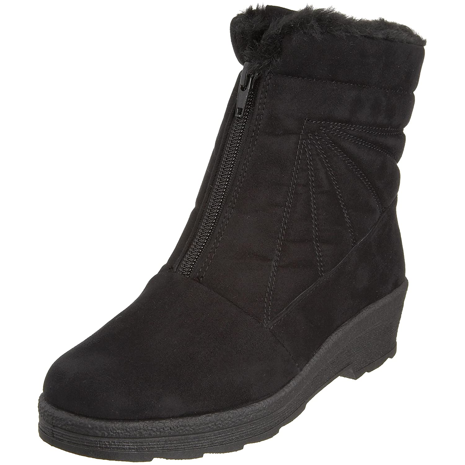 Rohde Rohde 287090, V.6) Bottes femme (Noir Noir (Noir - V.6) 98b10d5 - fast-weightloss-diet.space
