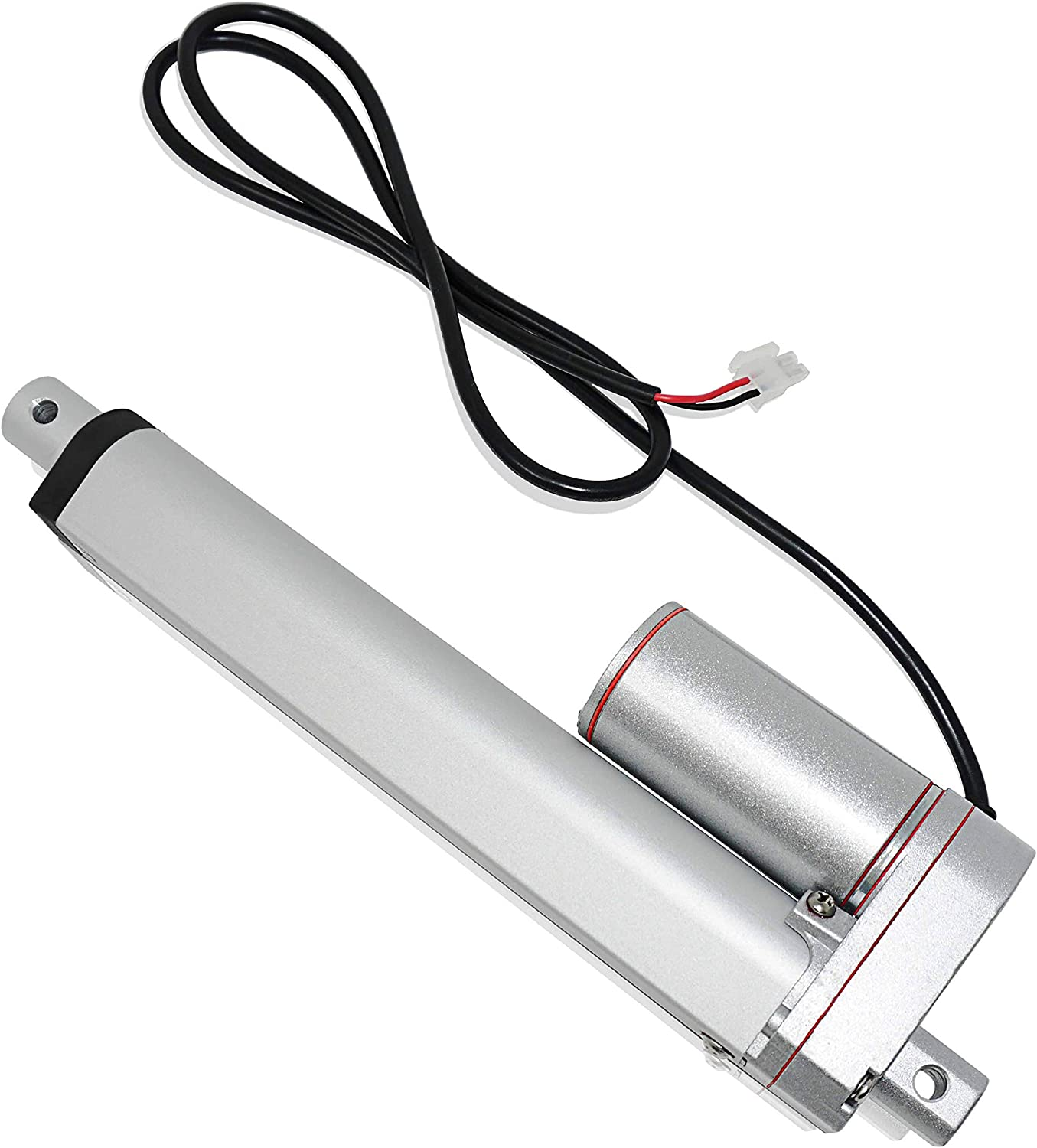 Home Automation Mini Linear Electric Actuator 12V Model: PA-14-9-35 for Outdoor | Innovative High-Speed Motor and Durable Stroke 9, 35 lbs. Robotics Track Solar Agriculture