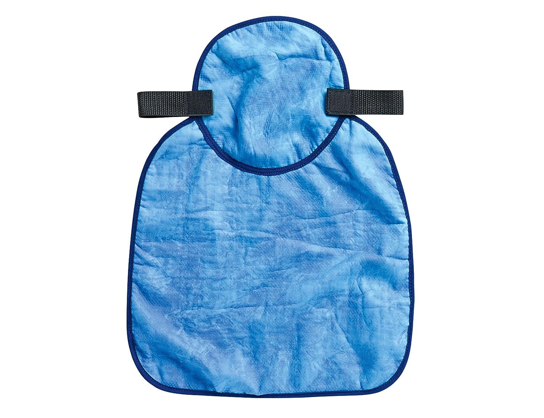 Chill-Its 6717CT Evaporative Cooling Hard Hat Neck Shade, Blue Ergodyne