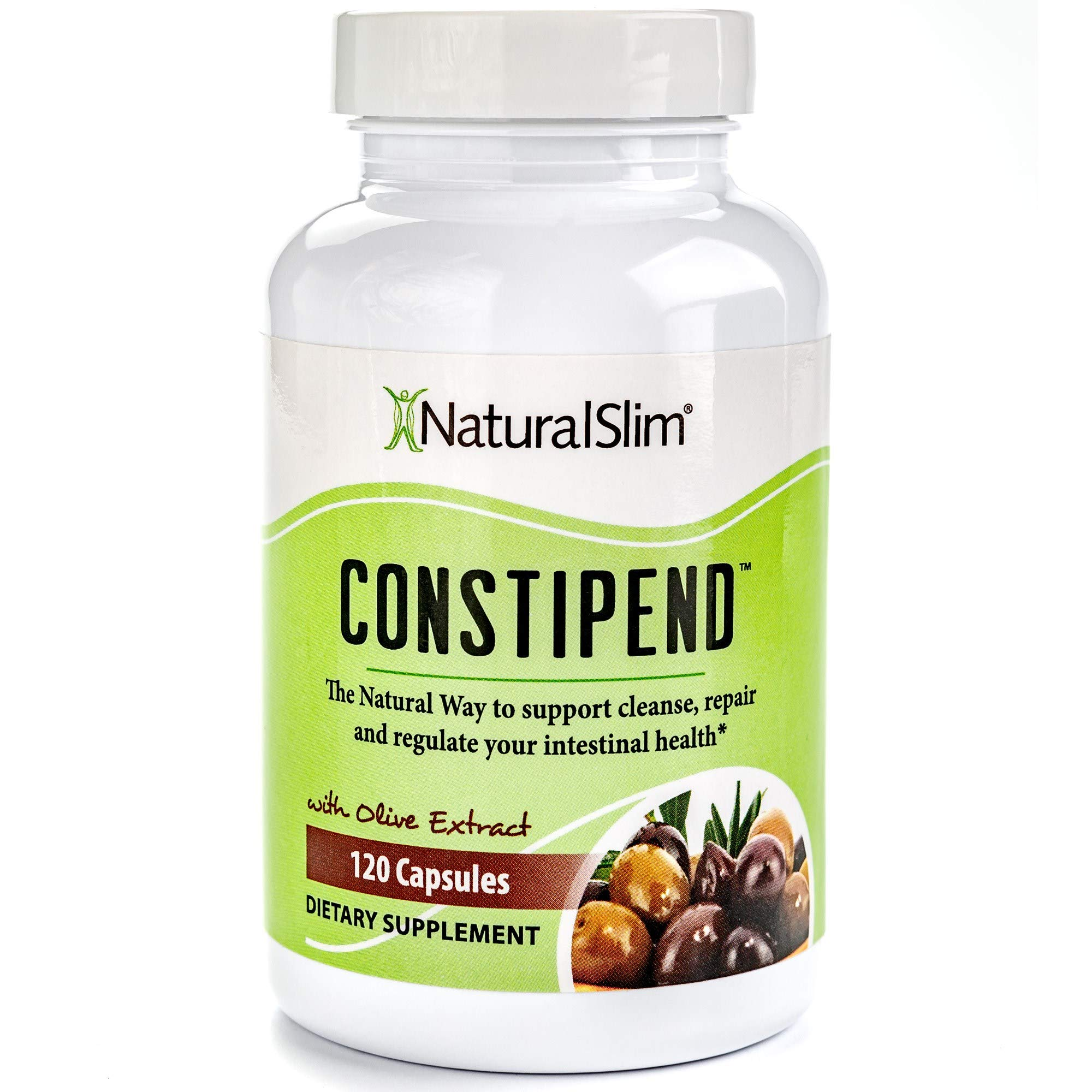 NaturalSlim Constipation Remedy, Formulated by Award Winning Metabolism and Weight Loss Specialist- Natural Colon Cleanse Without Cramping or Side Effects for Fast Relief and a Flatter Tummy by NaturalSlim