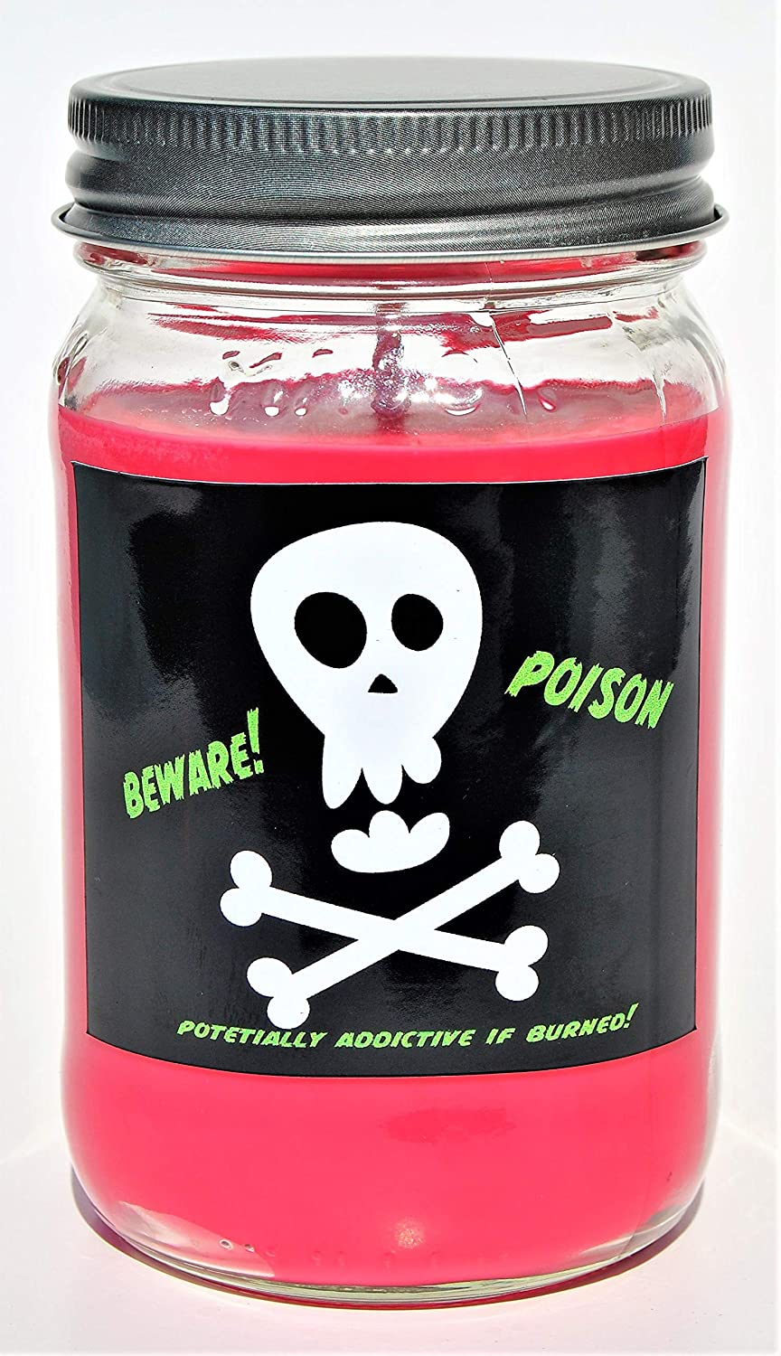 Soy Candles Burn Cleaner ~ Longer ~ Non-Toxic ~ The Original 100/% Yinzer Made in USA Sugar Creek Candles-Poison Cherry DR. Pepper Gift Any Occasion 100/% Soy Wax Candle