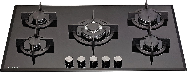 8 X Tempo Libero Nero Forno Cottura Fornello Fiamma Bruciatore Piastra Controllo Interruttore Manopole