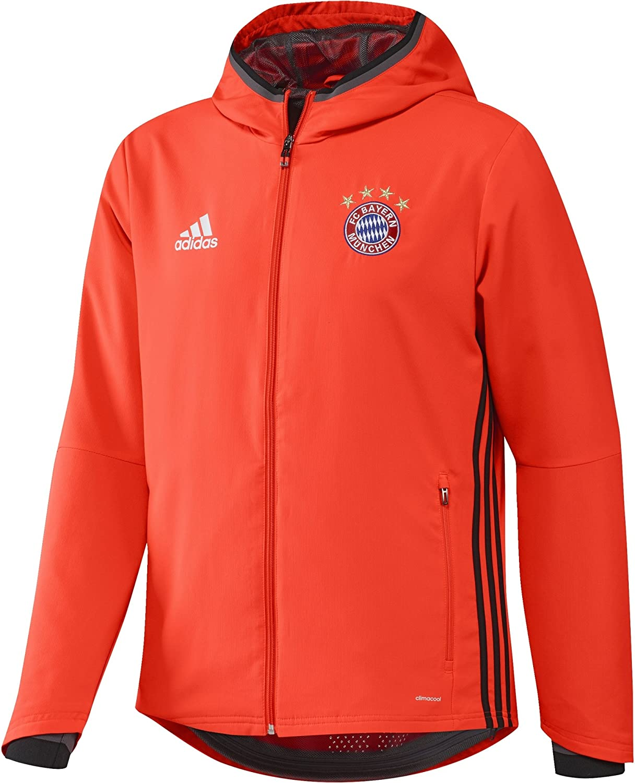 Veste Bayern Adidas saison 2017 2018 rouge | FootKorner