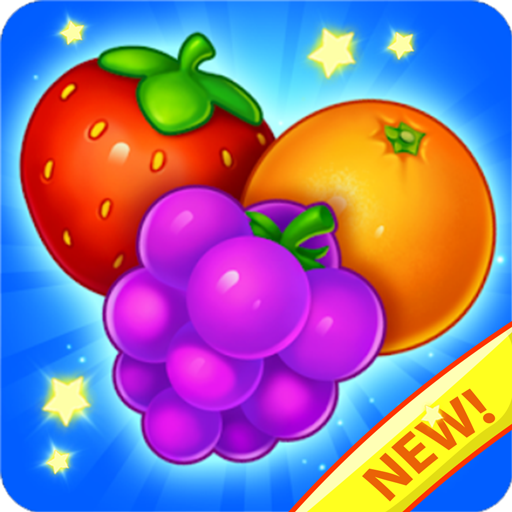 Italian Fruit Charm (Fruit Land - Farm Story Heroes Frenzy (fruits and vegetables match 3 puzzle Free games))
