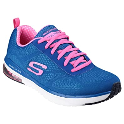 984c7296dd3 Amazon.com | Skechers Womens/Ladies SK12111 Skech Air Infinity Trainers/ Sneakers (6 US) (Blue/Pink) | Fashion Sneakers