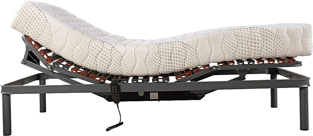 PIKOLIN – Colchón ART18 Nova (Viscoelástica + espumación - Compatible con somieres articulados/Viscofoam Mattress - Compatible with Articulated Bed ...
