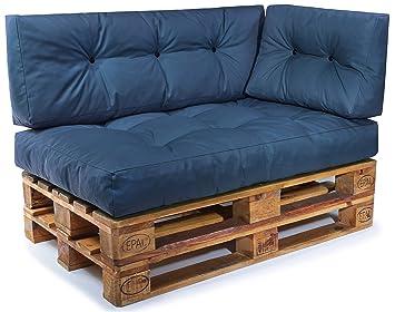 Palettenkissen Set Palettensofa Palettenpolster Palettenauflagen Sofa Kissen Indoor Outdoor Gesteppt Fur 120 X 80 Cm Europaletten Set 3 Sitzkissen