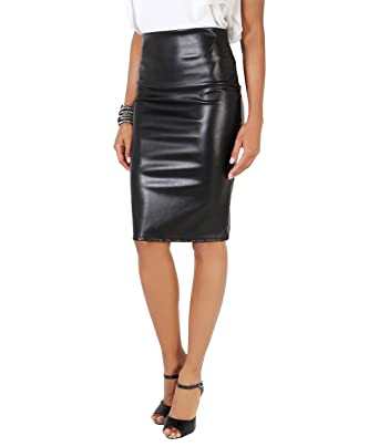 a3ac169db KRISP® Women Office Skirt Bengaline Belted Smart Pencil Midi: Amazon ...